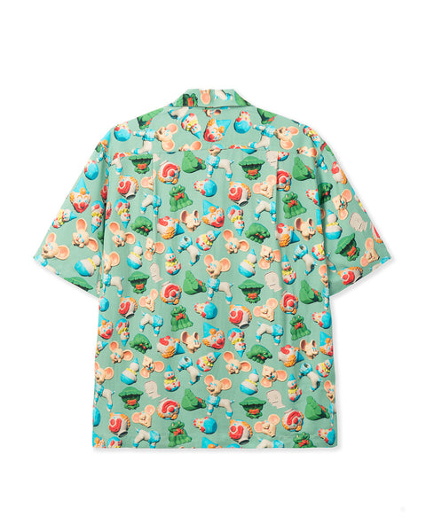 Steve Smith 3D Toy Box Short Sleeve Hawaiian Shirt - Seafoam
