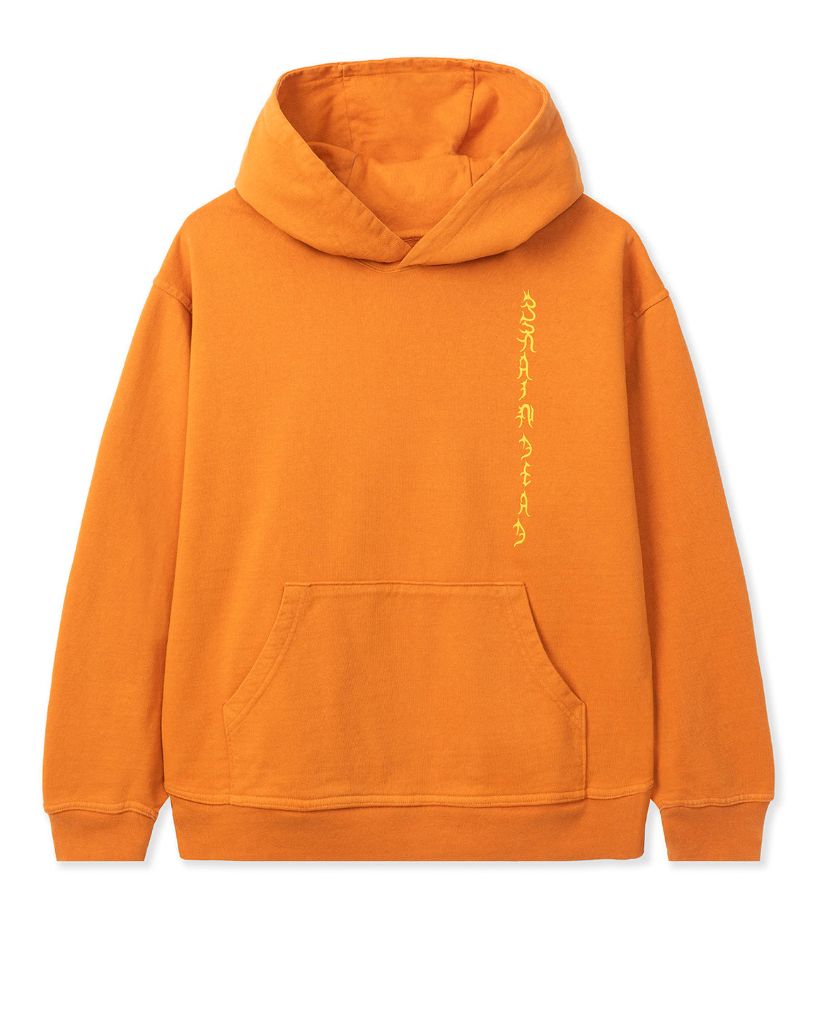 Jonny Negron Bondage Print Hooded Sweatshirt - Orange