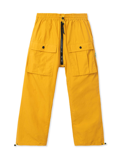 Nylon Flight Pant - Gold