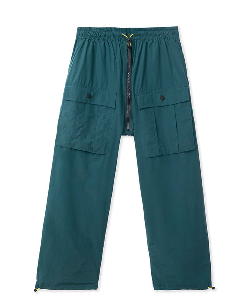 Nylon Flight Pant - Blue Green