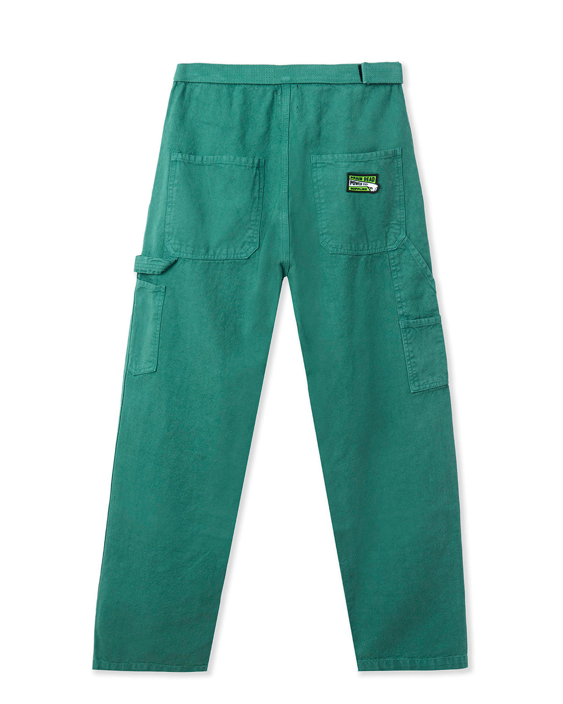 Washed Hard/Software Velcro Carpenter Pant - Teal