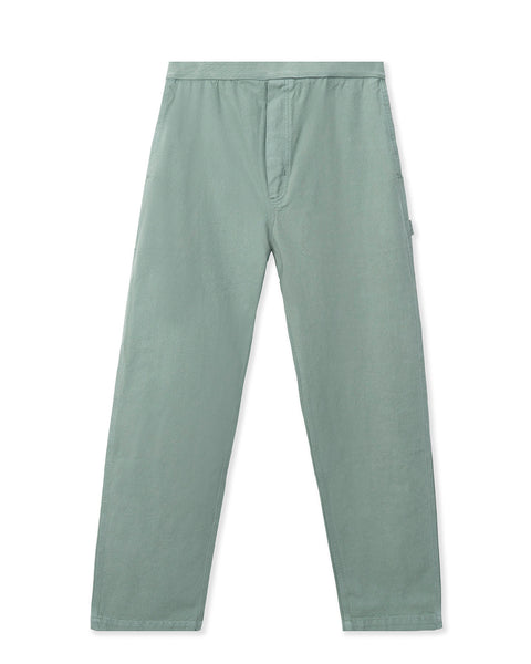 Washed Hard/Software Velcro Carpenter Pant - Grey