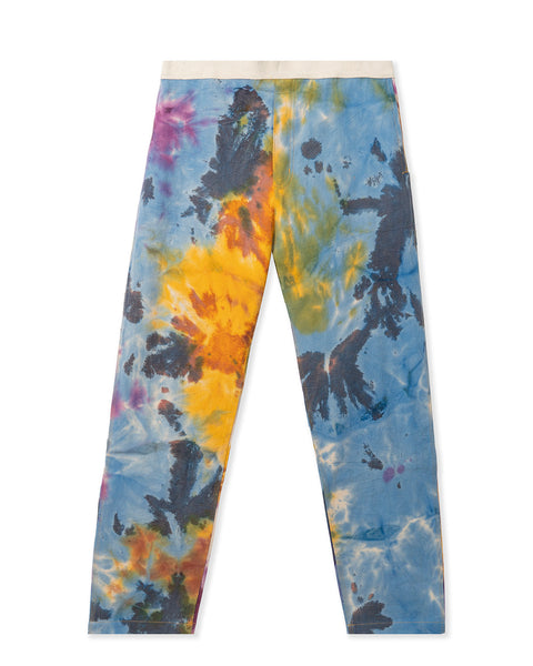 Washed Hard/Software Velcro Carpenter Pant - Tie Dye