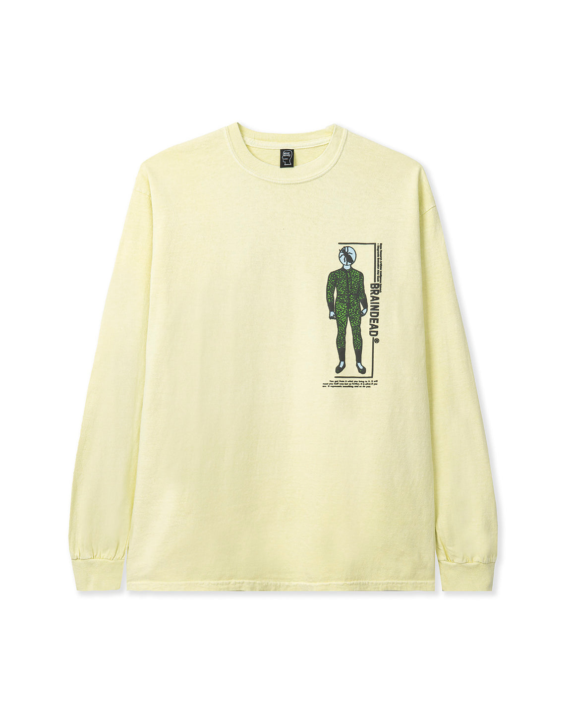 Evaluate Long Sleeve Tee - Lemon