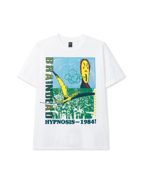 Hypnotize Short Sleeve Tee - White