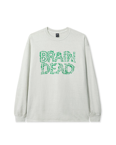 Gooey Long Sleeve Tee - Cement