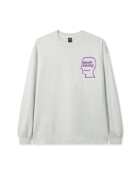 Vibration Long Sleeve Tee - Cement