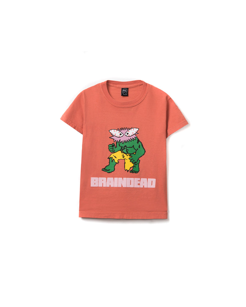 Spazz Kid T-shirt - Terracotta