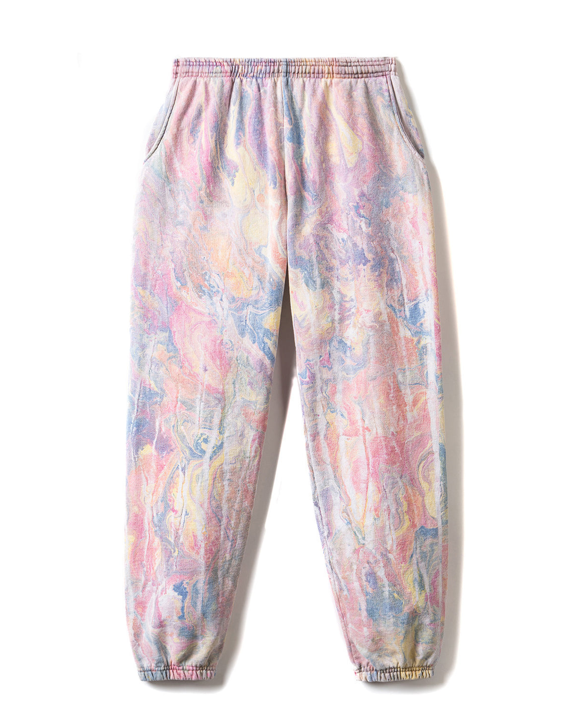 Marble Dye Sweat Pants