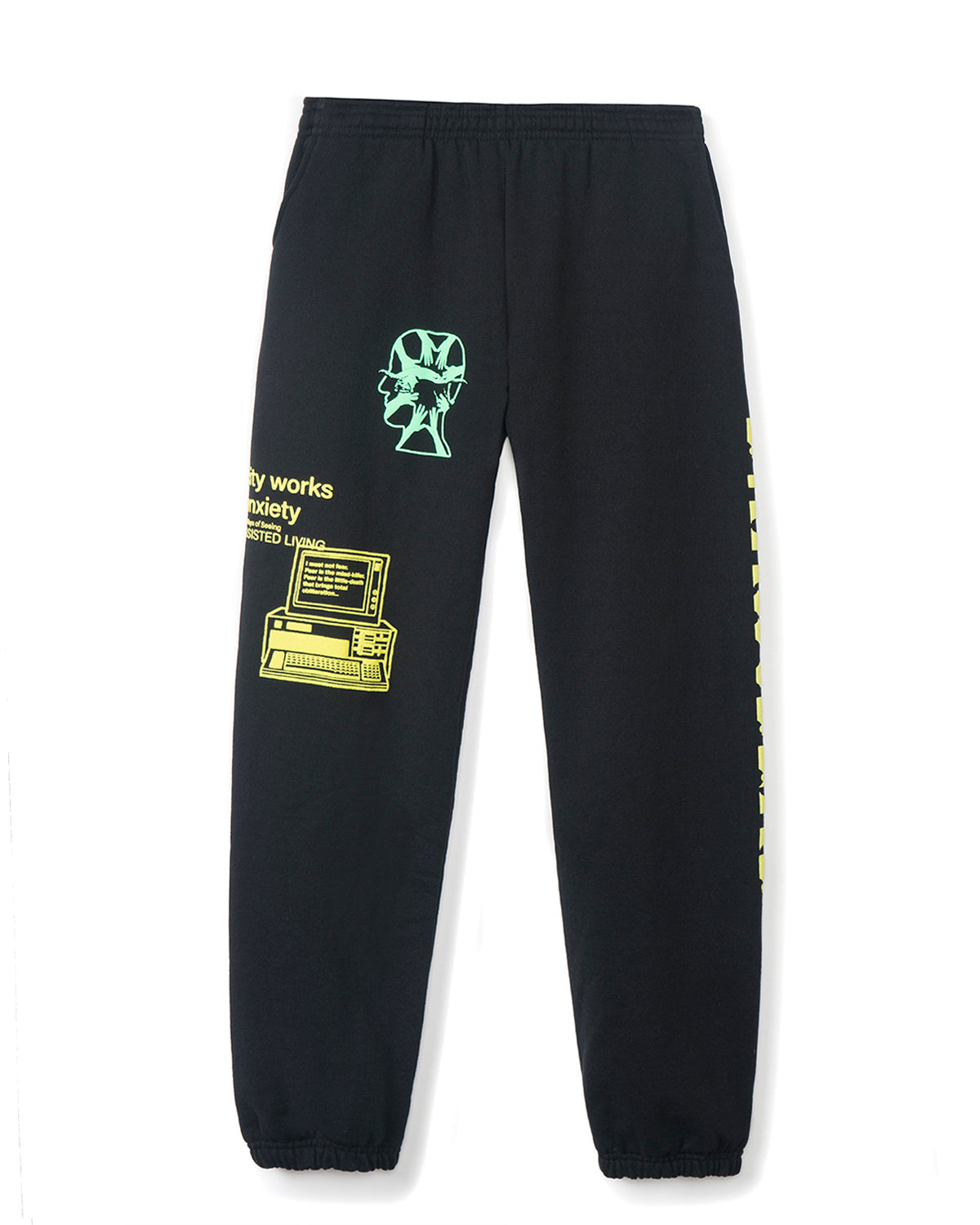 Full of Germs Sweatpants - Black