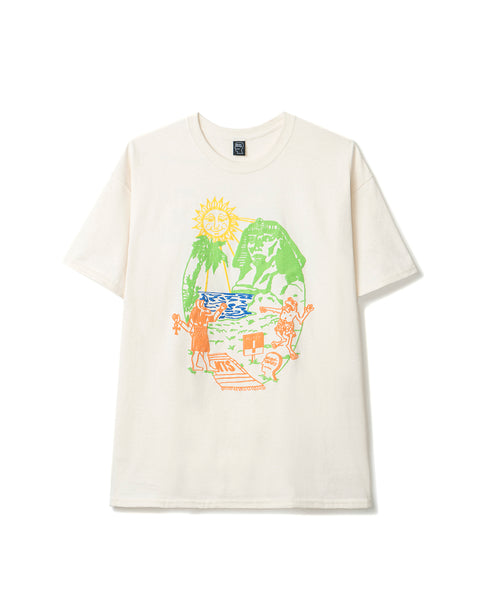 NTS Terrible Summer Short Sleeve Tee - Natural