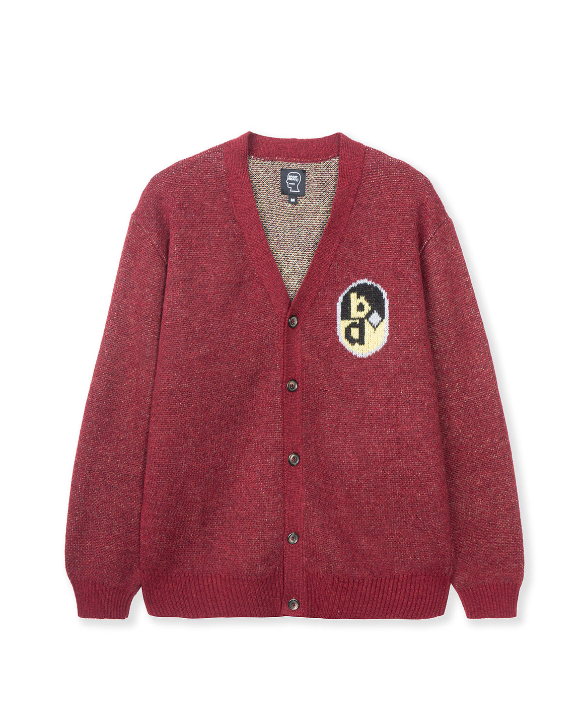 Sunshine Button Down Cardigan - Maroon