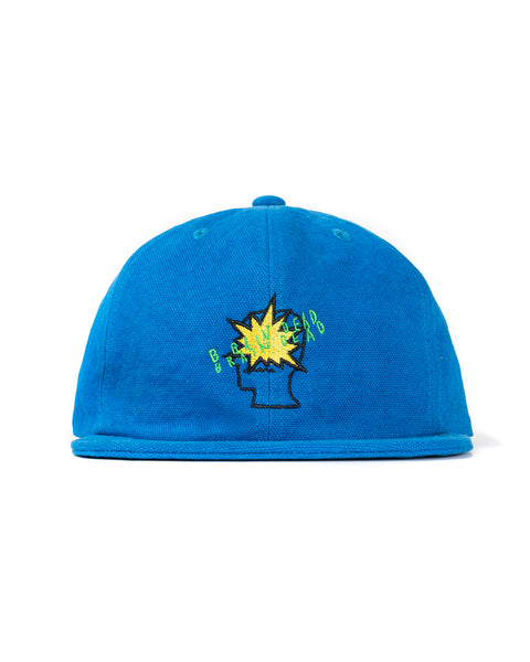 Bang Logo Strap Back Hat - Blue