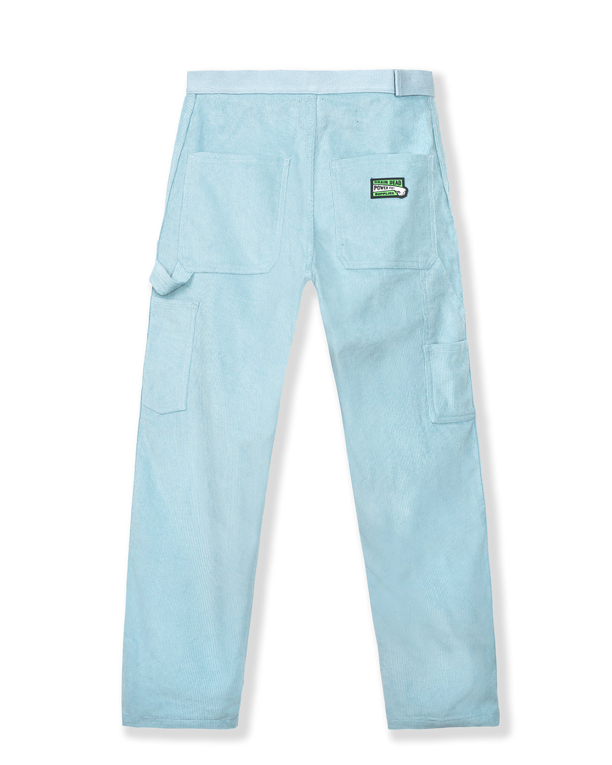 Hard/Software Velcro Corduroy Carpenter Pant - Light Blue