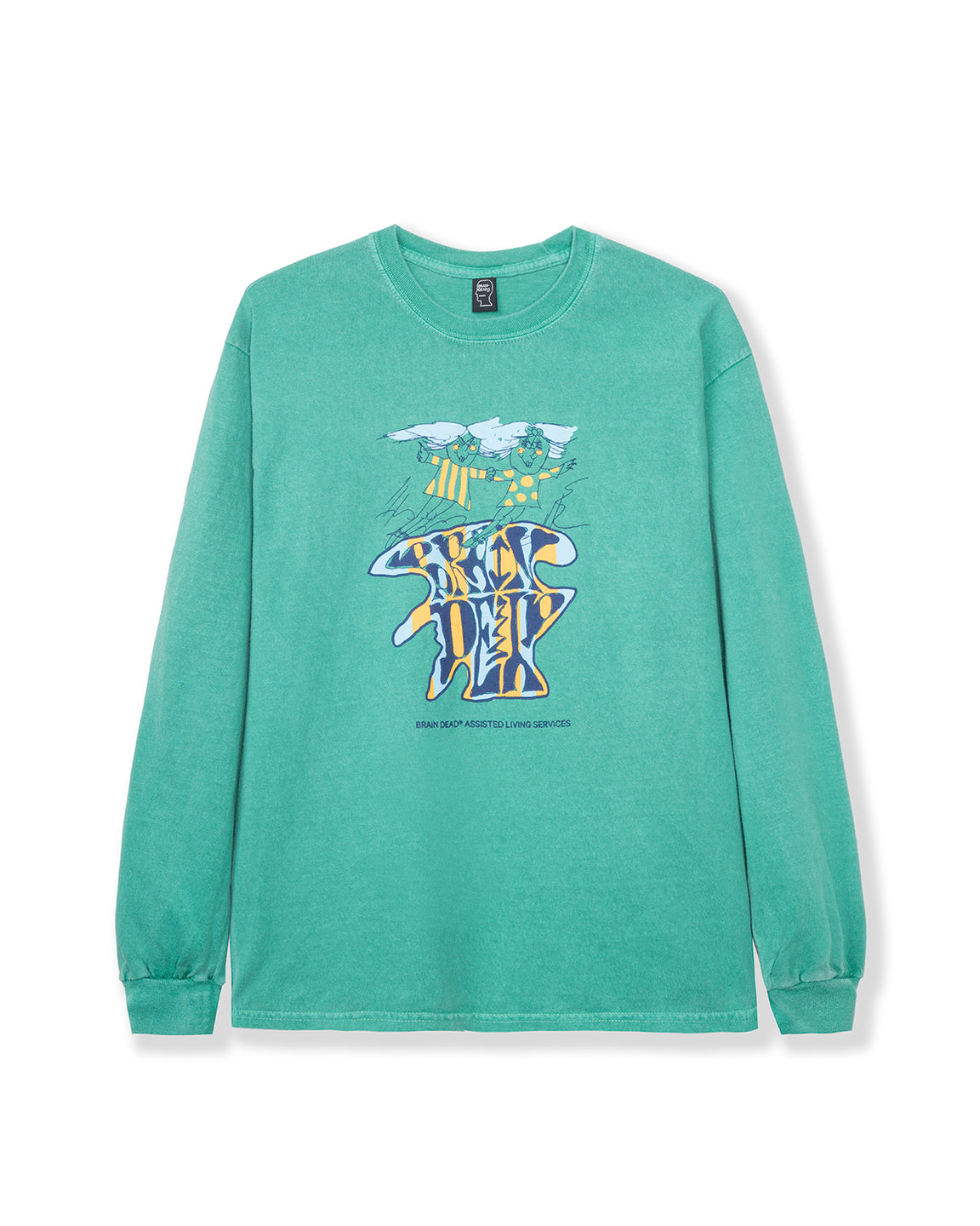 Leon Long Sleeve - Kelly Green