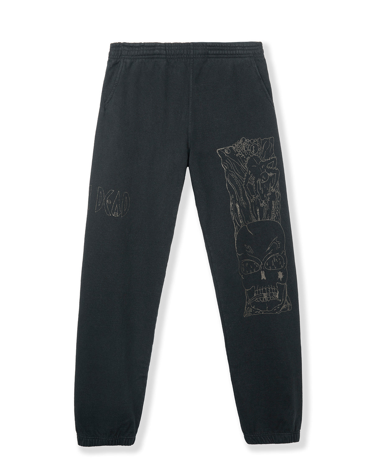 Matt Lock Sweatpants - Black