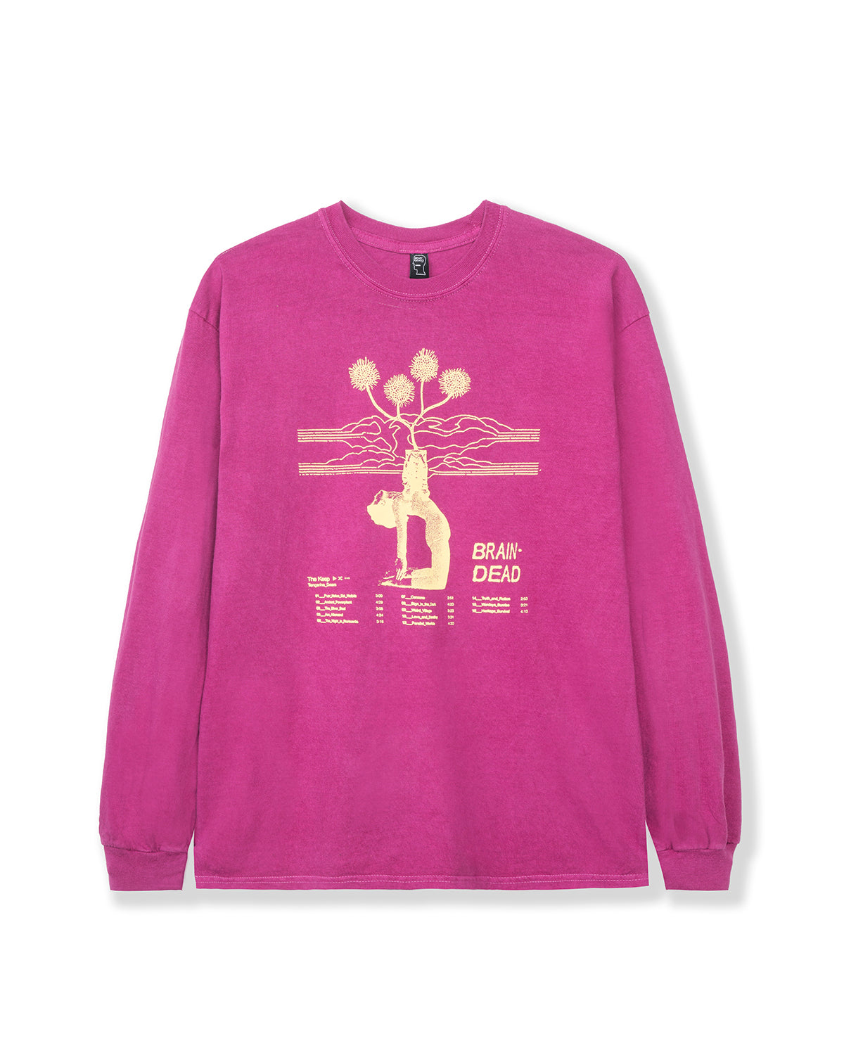 Mind Keep Long Sleeve - Maroon