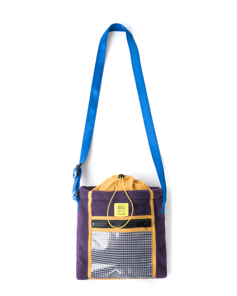 Rush Hour Tote Bag - Purple/Golden/Yellow
