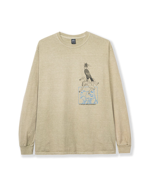 Small Animals Long Sleeve - Natural