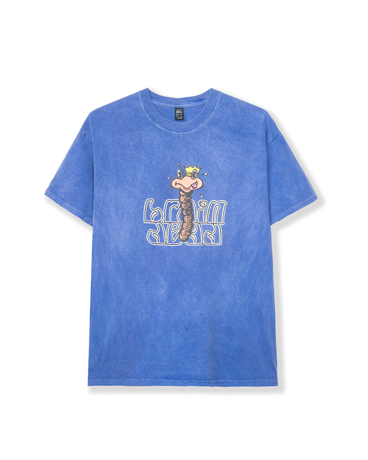 Wormzzz T-shirt - Blue