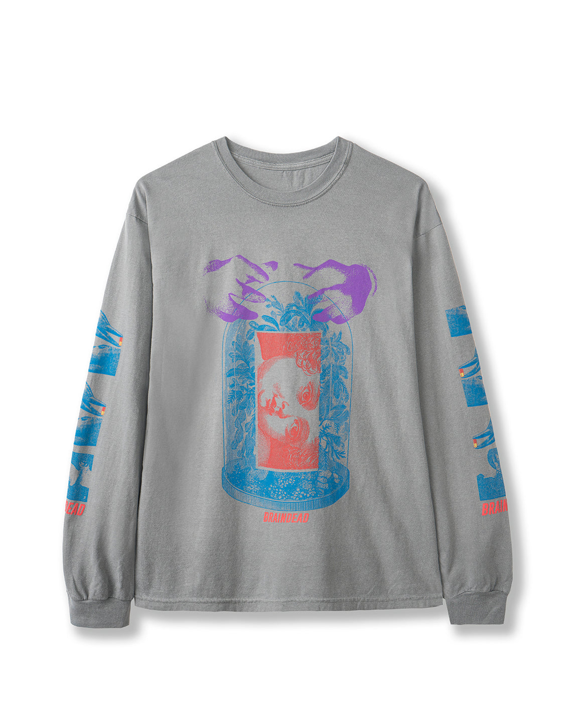 Ways of Knowing Long Sleeve T-shirt - Grey