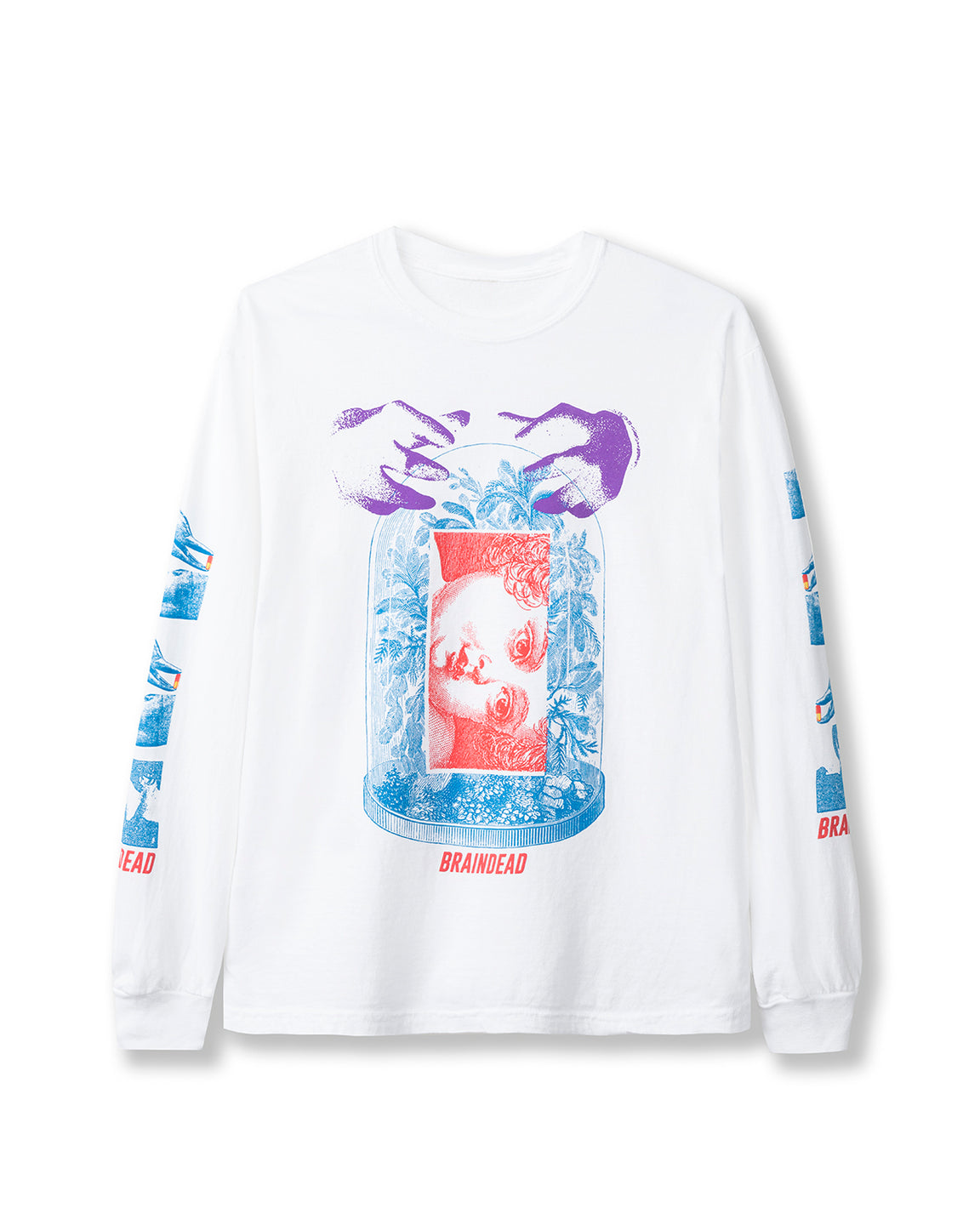 Ways of Knowing Long Sleeve - White - Brain Dead