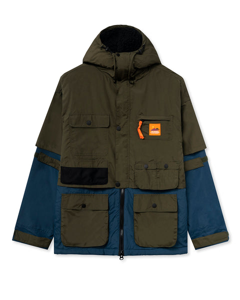 Layered Life Infinite Parka - Multi