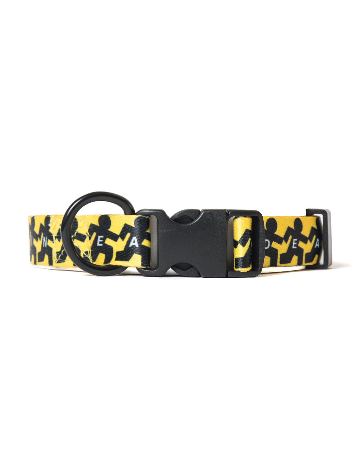 running man dog collar - brain dead equipment - front