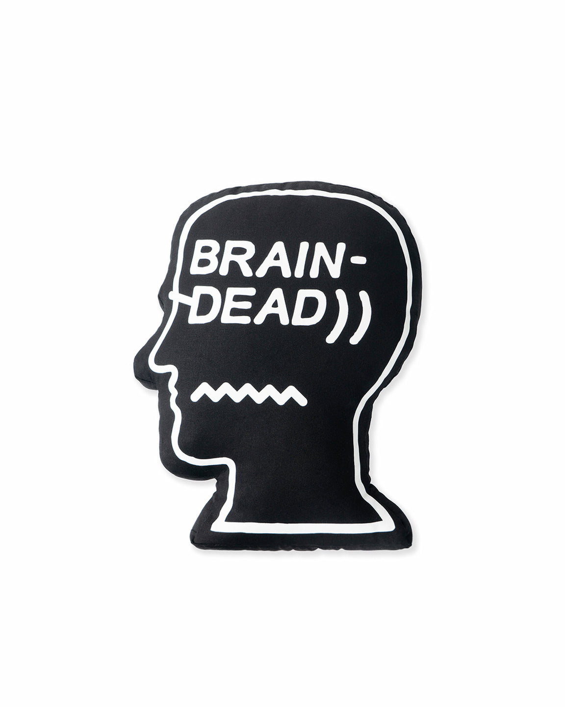 Logo Head cushion - Black