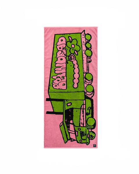 Brain Rig Towel - Pink