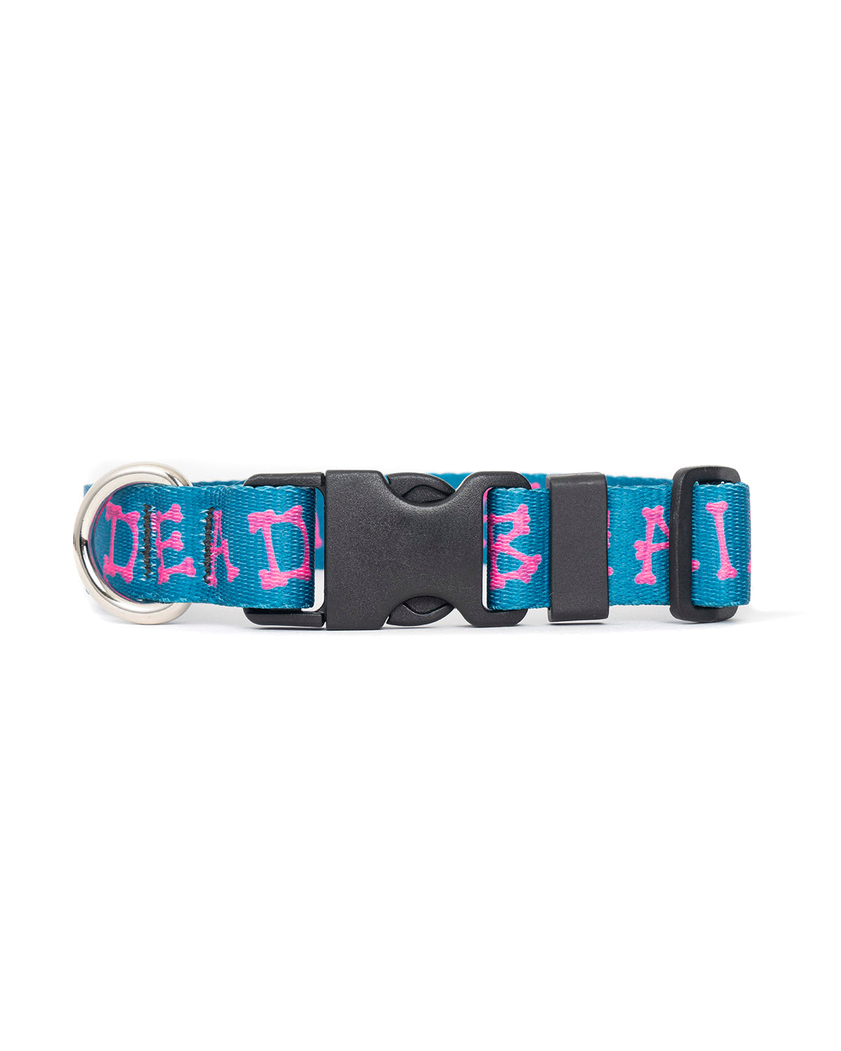 Boneman Dog Collar - Teal