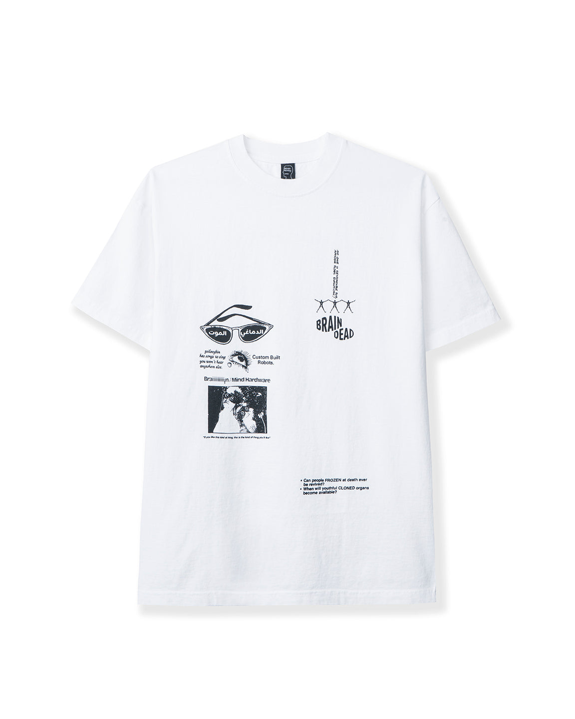 Sole DXB Youth Extension T-shirt - White