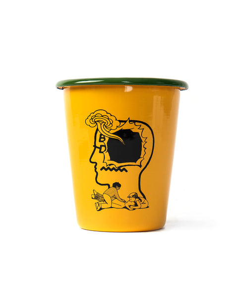 Saturated Voids Enamel Tumbler - Yellow