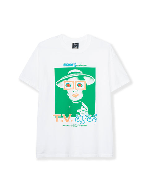 Gimme 5 T.V. Eyes T-shirt - White