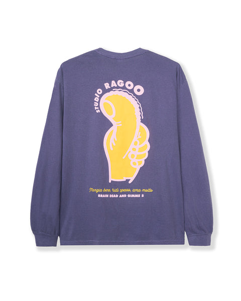 Gimme 5 Thumbs Up Long Sleeve - Purple