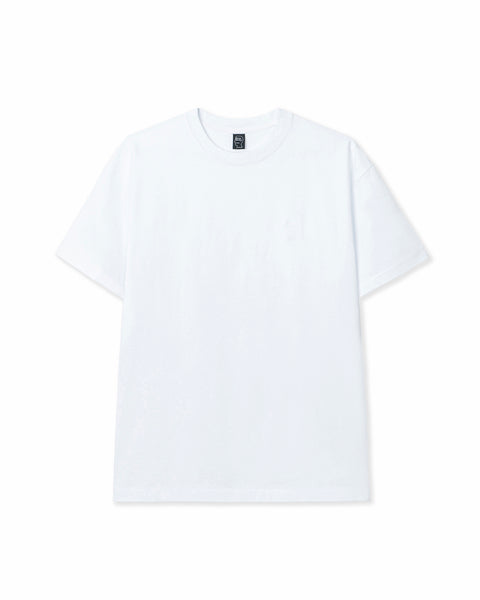 Mini Logo Head Embroidered Heavyweight T-shirt - White