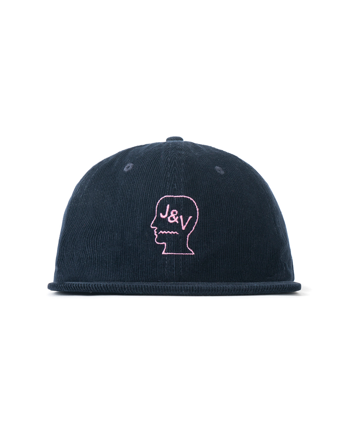 Jon & Vinny's Corduroy Six Panel Hat - Navy