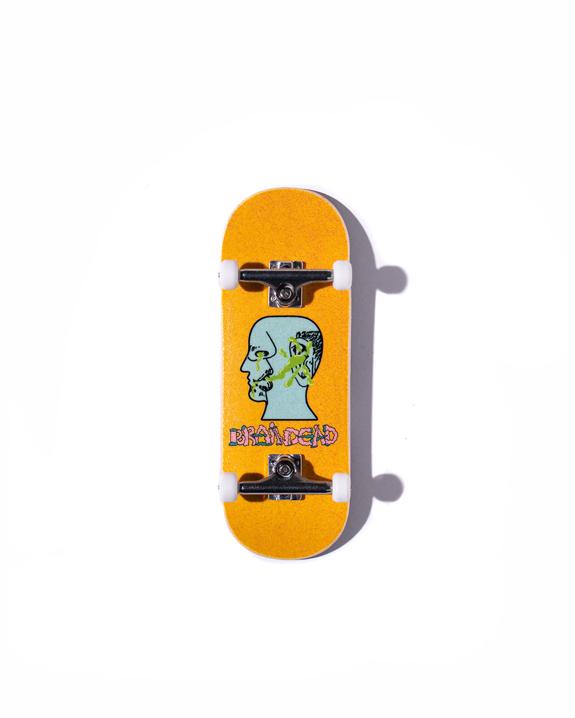 Brain Dead x Cowply Snotface Complete Fingerboard - Yellow
