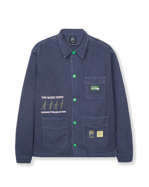 NTS Runnin' Chore Coat - Washed Blue