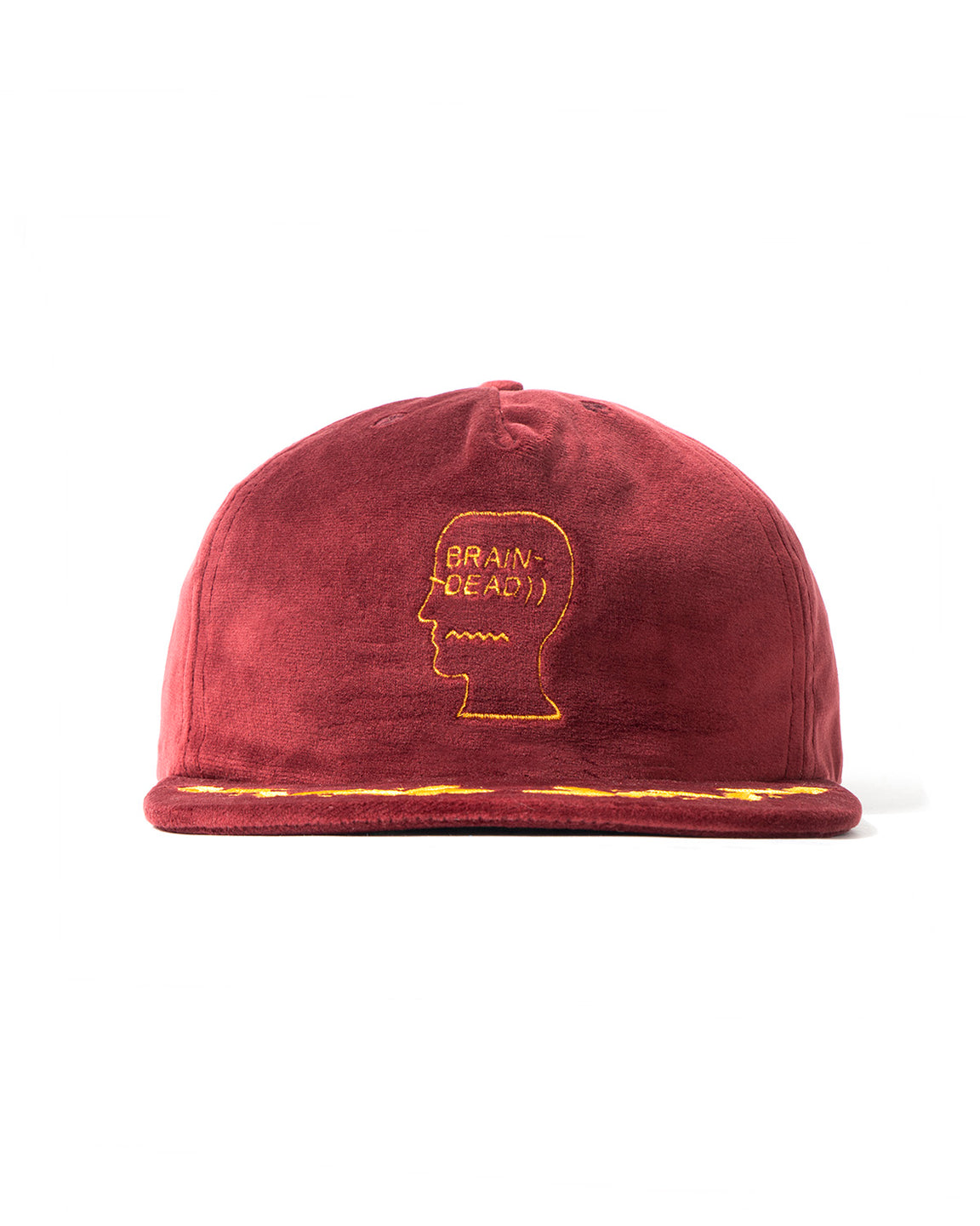 Scrambled Egg Hat - Burgundy