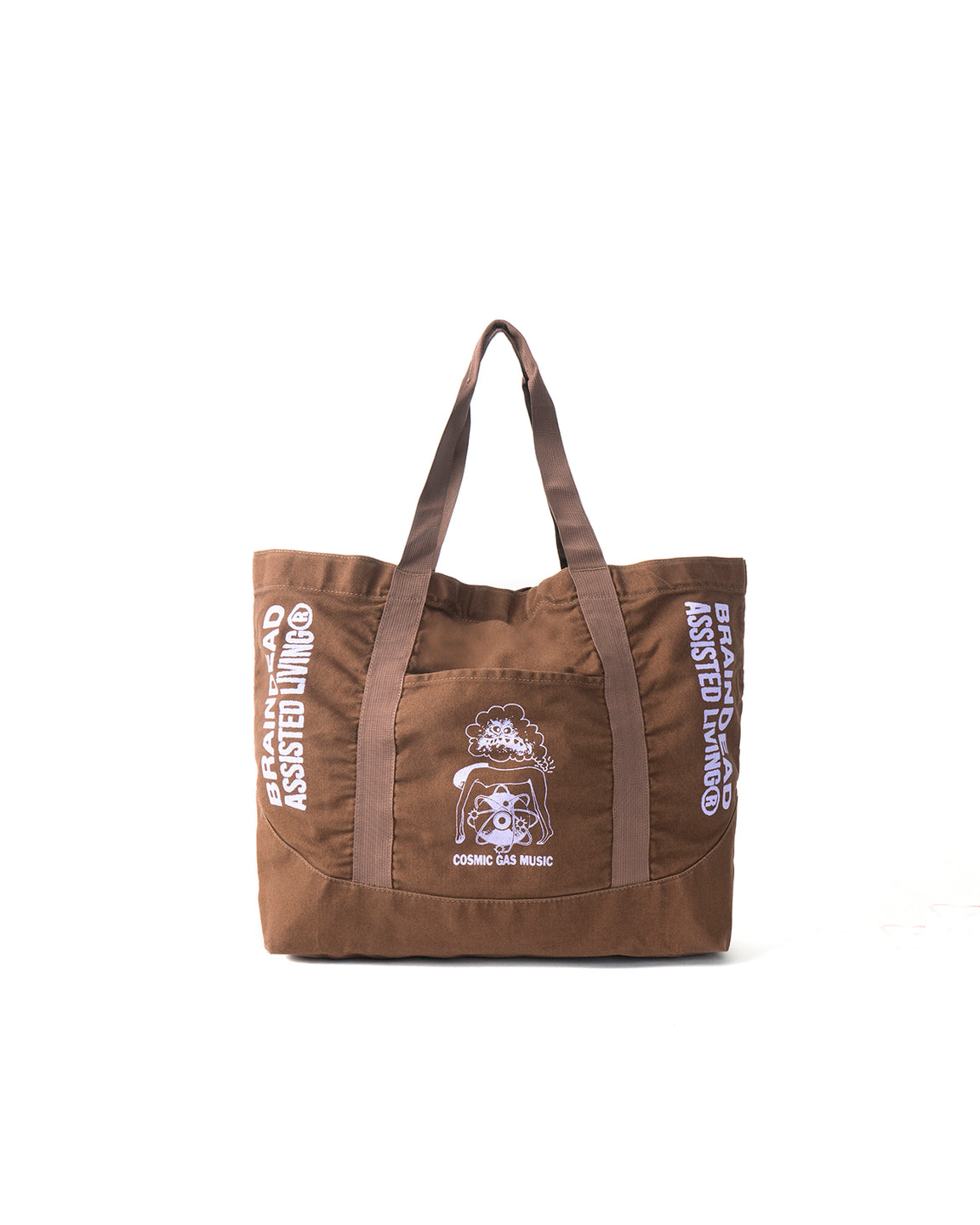 Cosmic Gas Music Tote - Brown