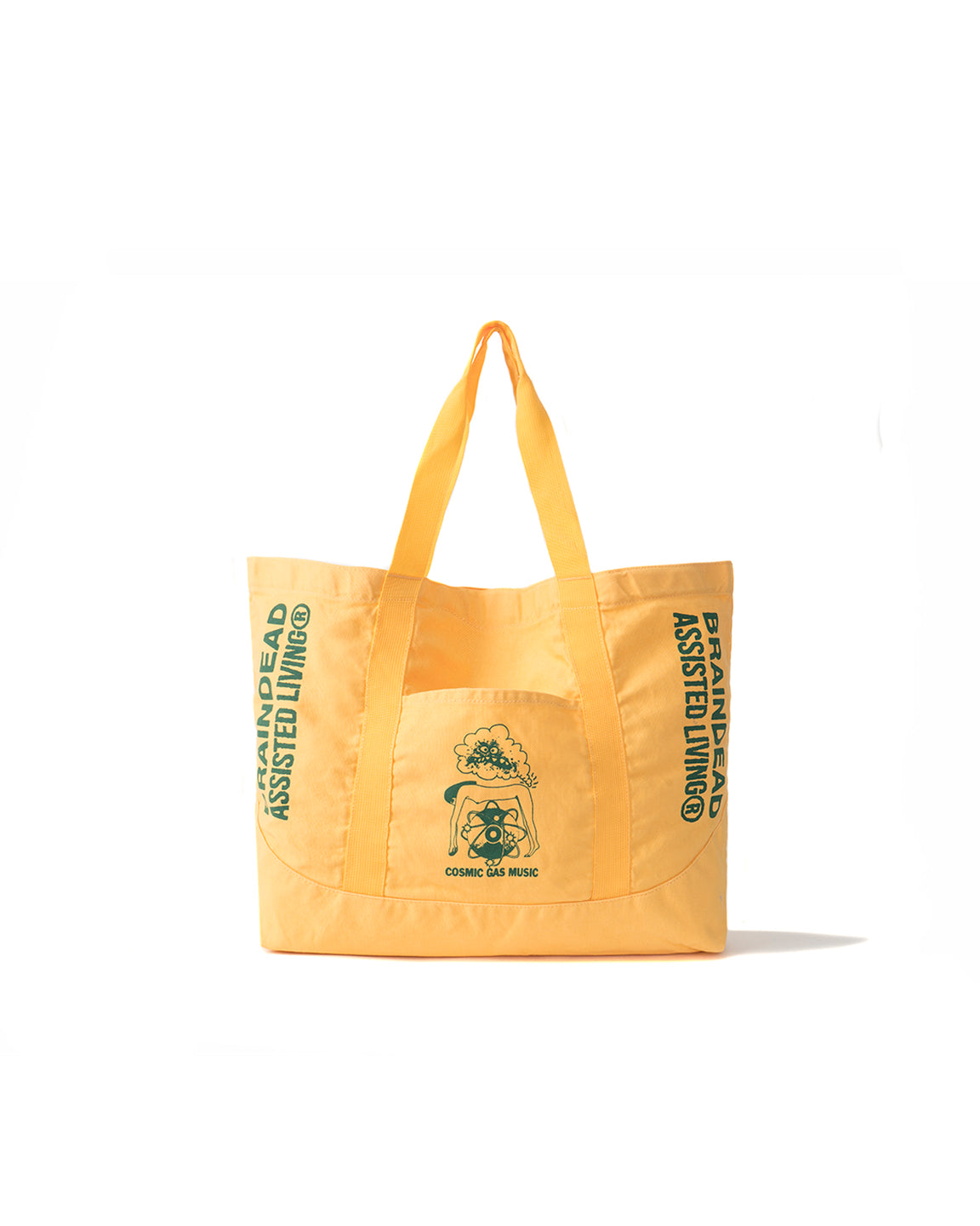 Cosmic Gas Music Tote - Yellow