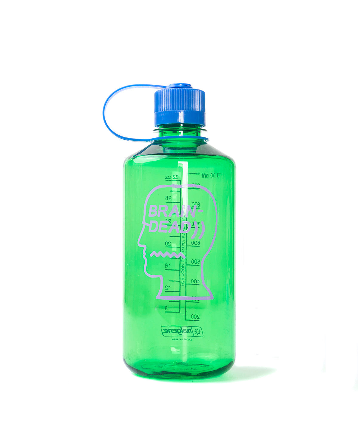 32Oz Water Bottle - Electric Green