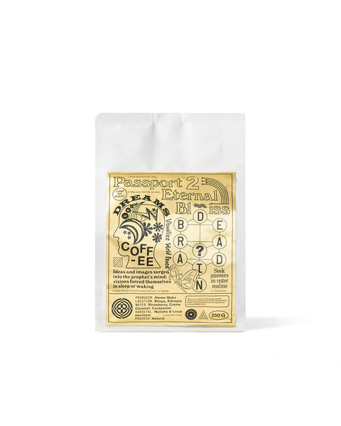 Passport To Eternal Bliss Dream Coffee - Aleme Wako