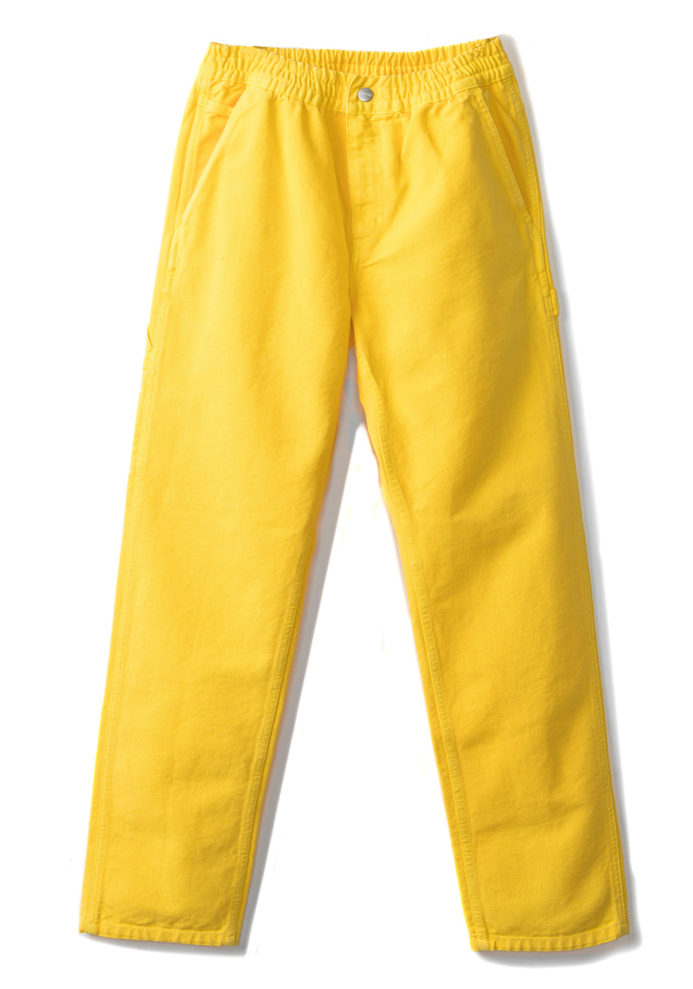 Brain Dead x Carhartt Beach Carpenter Pant - Lemon