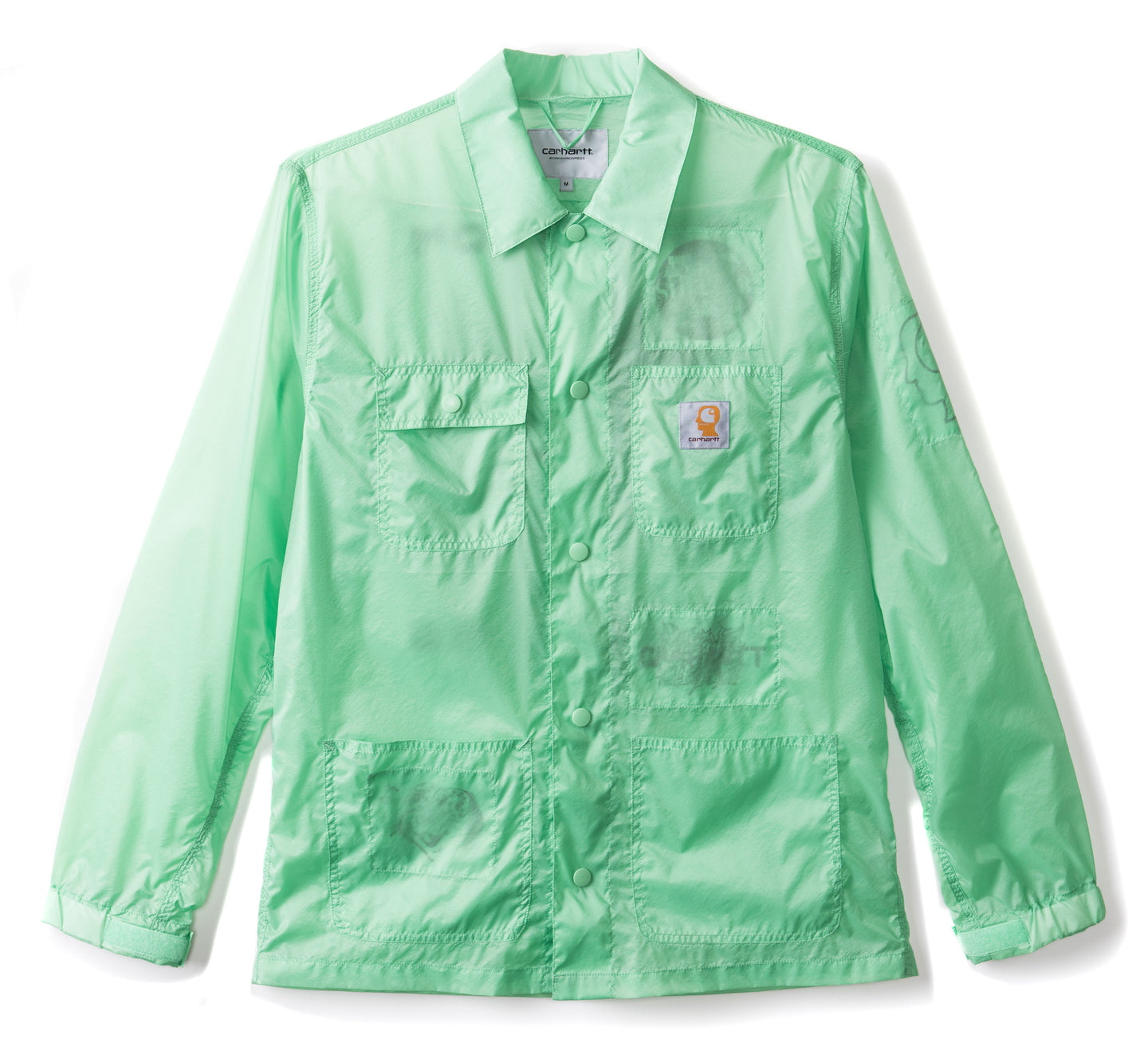 Brain Dead x Carhartt Chore Coat - Green