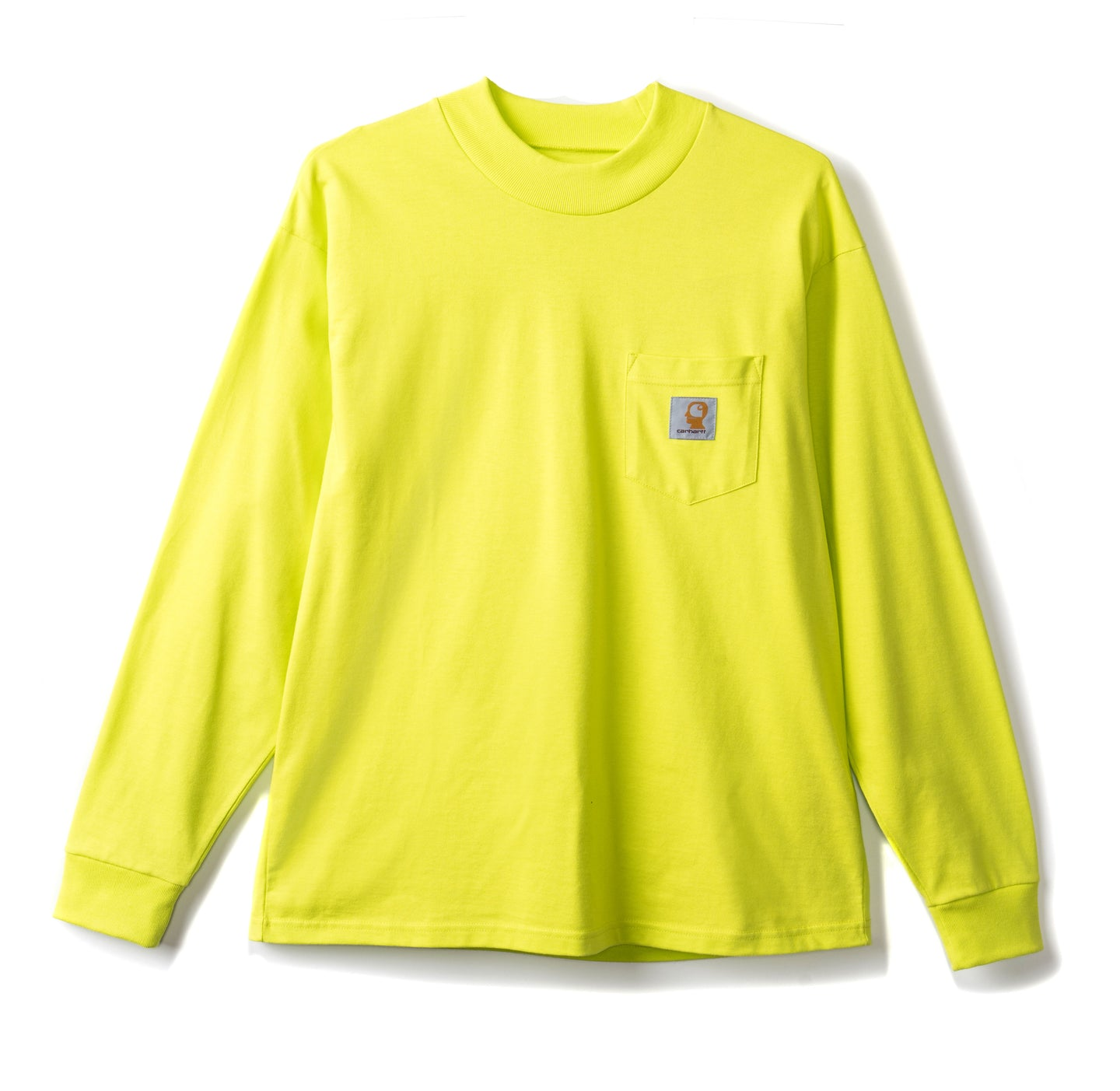 Brain Dead x Carhartt Swan Long Sleeve - Lime Green