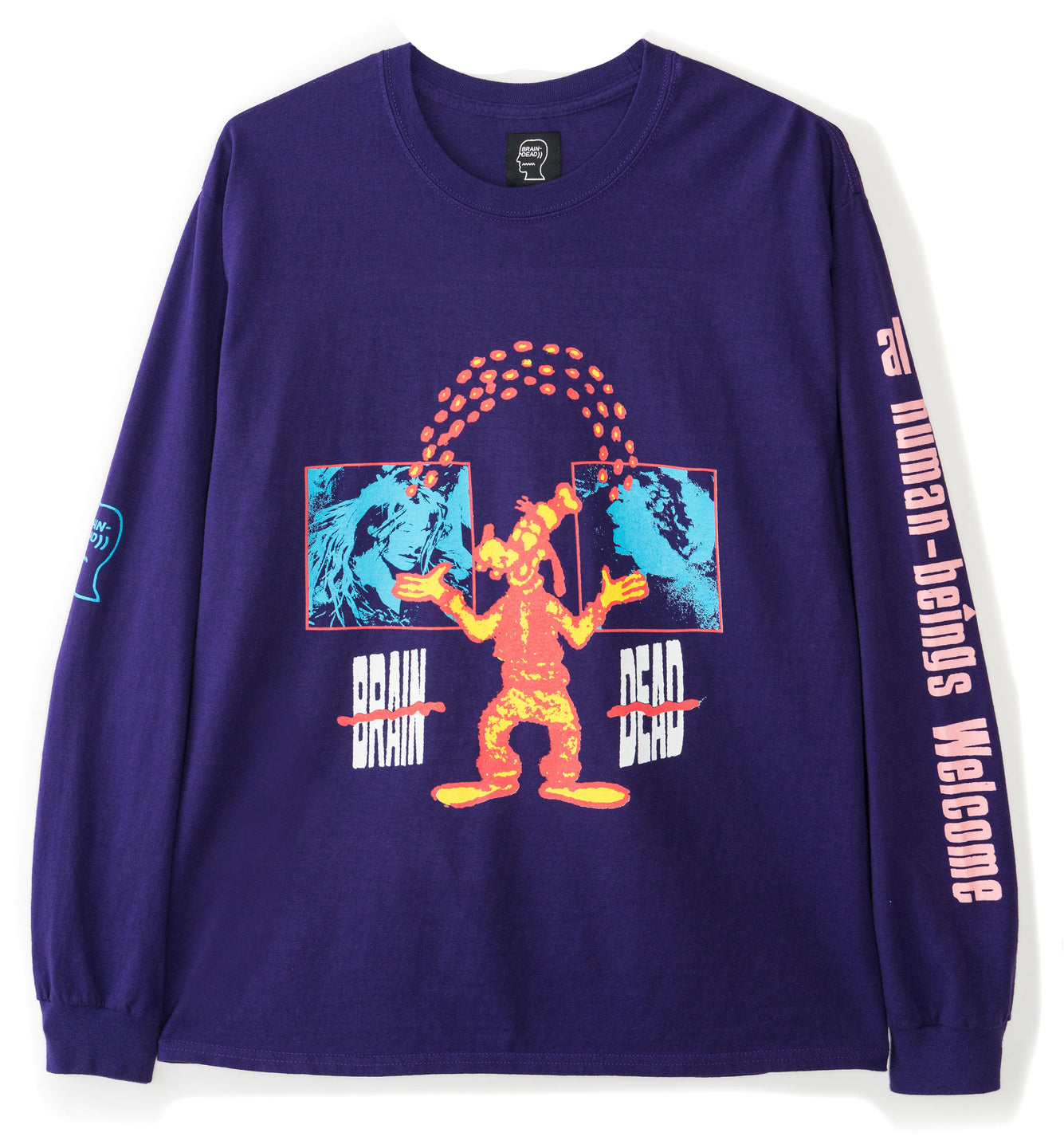 Human Being Longsleeve - Purple