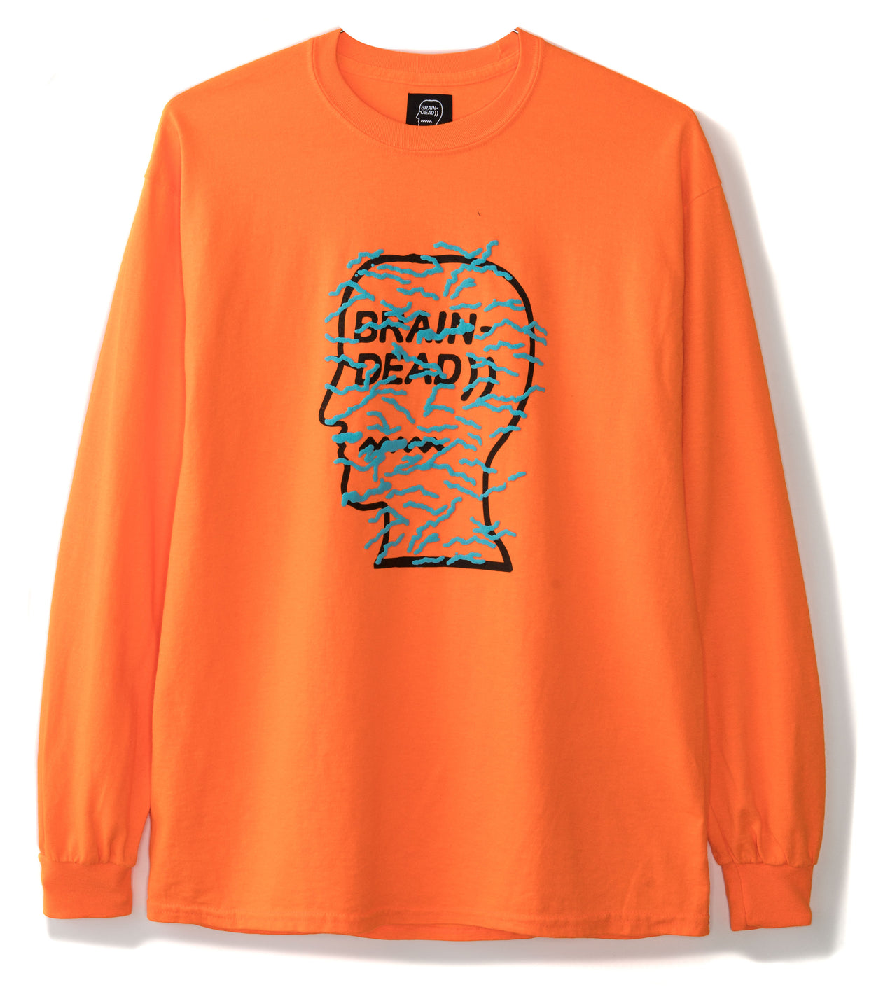 Infected Longsleeve - Emergency Orange