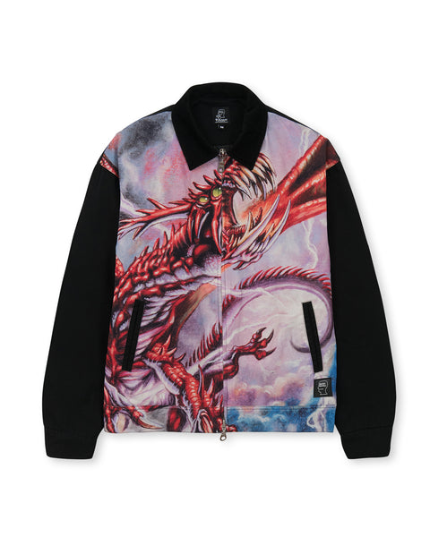 Brain Dead x Magic: The Gathering Dragon Jacket - Black/Multi